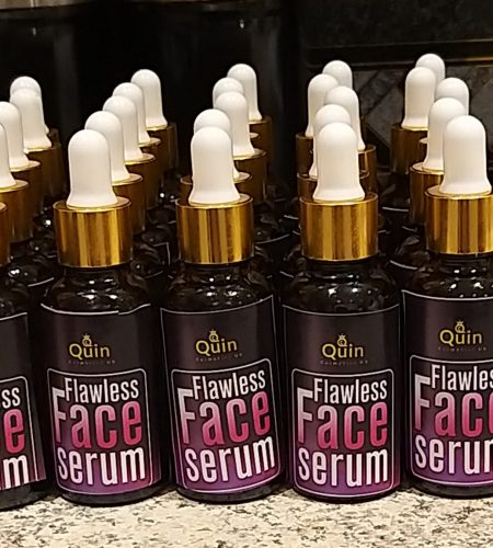 flawless face serum